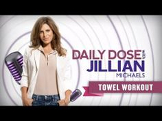 Towel Workout⎢Daily Dose With Jillian Michaels | Everyday Health