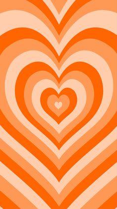 orange heart by y2krevival | Redbubble