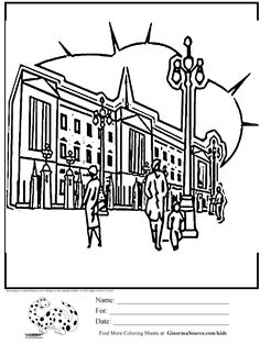 olympics coloring page streets of london