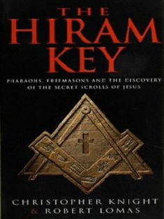 """It takes awhile to read this one... a lot of information to process. It's a fantastic read... makes you think differently about certain things. """"The Hiram Key"""" by Christopher Knight and Robert Lomas"""