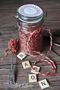 bacon salt, for all the bacon lovers out there