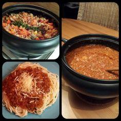 Bolognese saus uit de Crockpot Slowcooker