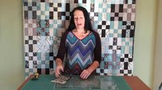 Watch how easily this quilt pattern comes together as the designer Gudrun Erla makes it from start to finish using the Stripology Ruler by GE Designs for Cre...