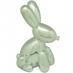 Cofre Ceramica Rabbit Bladder Prata -  URBAN                           $ 125,82