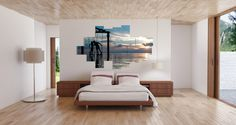 Extra large wall art - multipanel 3D - 261x153 cm - 18 pieces. Printed in photo quality on laminated paper. MADE IN ITALY. #quadri #quadri3D #design #wallart #multipanel
