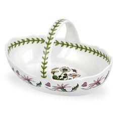 Portmeirion Botanic Garden Oval Basket > SPECIAL OFFER AHEAD! : Baking desserts tools