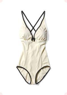 Color Sheme One Piece Swimwear