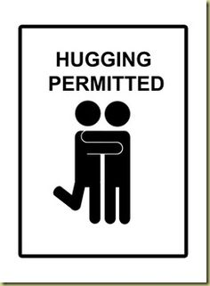 Daily hugging-permitted