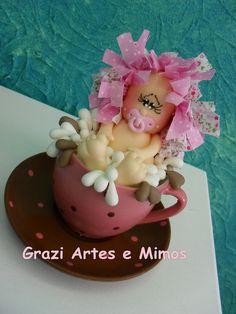 Topo Cha de Bebe  Pézinho gordo (1)