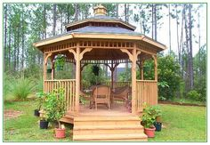 Awesome Build Your Own Gazebo Kit
