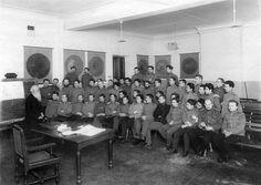 Слушатели академии на лекции П.В.Модестова