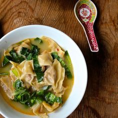 """thai wonton soup-- from nakedcuisine """"just found this site all about whole, healthy & yummy food"""""""