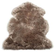 Kadin Handwoven Sheepskin Taupe Rug Union Rustic Rug Size: Novelty 180 x Modern Carpet, Modern Rugs, Grey Carpet, Barker And Stonehouse, Dry Carpet Cleaning, Tapis Design, Fur Rug, Rustic Rugs, Handmade Rugs