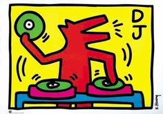 Keith Haring artwork!