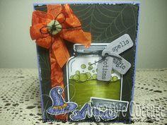 My Craft Spot: Sneak Peek Day #2 - A Jar Full Of Halloween!!
