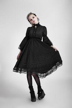 Robe Gothique Gothic Lolita Victorien Dolly