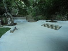 Andrew Reynolds backyard plaza