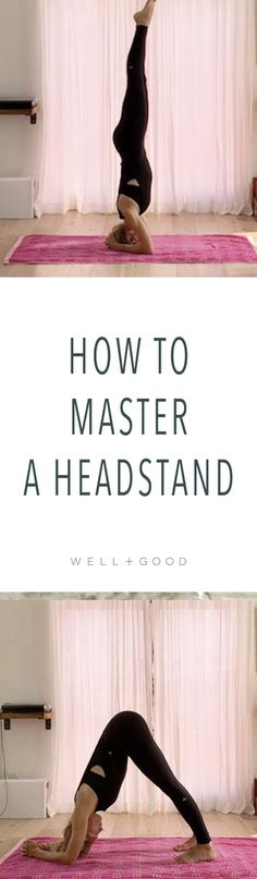 How to do a headstand on the beach