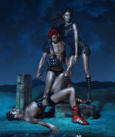versace ad campaign