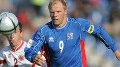 Eidur Gudjohnsen, Icelandic footballer who plays as a striker for Club Brugge. He has played 78 matches with Icelandic National Team, and he was a Barcelona's footballer. He has aso played for PSV, Chelsea, Monaco, Stoke, Tottenham, Fulham, AEK Athens, Valur, Reykjavik and Cercle Brugge.