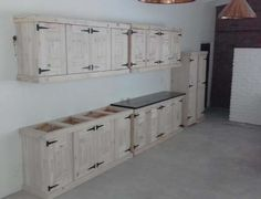 Kitchen Cupboard Farmhouse series 4000 Combo 1 Raw Brakpan - image 1