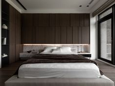 Modern Master Bedroom, Modern Bedroom Design, Master Bedroom Design, Bedroom Bed, Home Interior Design, Bed Room, Bedroom Images, House, Furniture