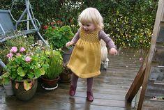 Golden Child Dress - Pickles - Free pattern