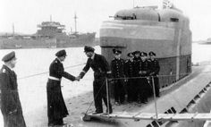 U-3034 shown here when she served as a training boat from 31 Mar 1945 - 4 May 1945with4th Flottille(training) She was scuttledon 4 May 1945 in Wasserleben Bay & subsequently her wreck was broken up.