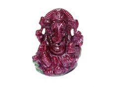Ganesha in Ruby – 140 carats