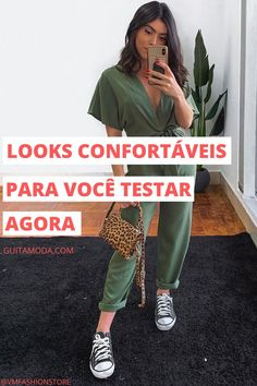 Casual Looks, Photography, Outfits, Style, Green Tank Top, Green Jumpsuits, Black Jumpsuit, Mini Backpack Purse, How To Match Clothes
