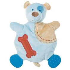 Mary Meyer Precious Puppy Wooby Chew Activity Toy Teether Rattle Crinkle Lovey #MaryMeyerBaby