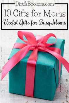 Gifts for Moms who are too busy to make their own wish list! Here are useful things that she'll really want. No DIY mom gifts here!.jpg