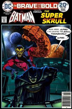 Super-Team Family: The Lost Issues!: Batman and The Super-Skrull