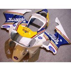 Honda CBR900RR 919 1998-1999 ABS Fairing - Rothmans - White/Yellow/Blue | $579.00