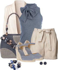 LOLO Moda: blue white lbv