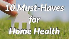 OT Home Health must haves