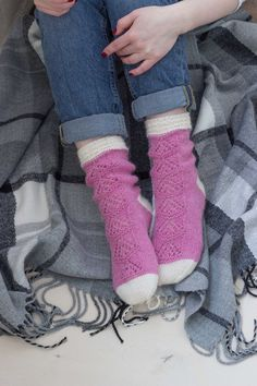 5f89fef64 Pink lace alpaca socks - Pink white lace socks - Alpaca merino winter socks  - Sock present for women - Travel gift - Women boot socks