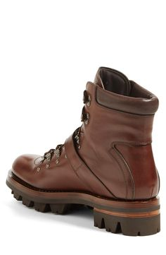 Free shipping and returns on Prada Leather Hiking Boot (Men) at  Nordstrom.com 619ccec40a