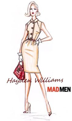 Hayden Williams for Mad Men collection