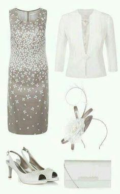 Stunning Matching Mother Of The Bride Outfits. The latest high Quality outfit combinations including matching jackets, dresses, shoes and fascinators Mother Of Bride Outfits, Mother Of Groom Dresses, Mother Of The Bride, Look Blazer, Mom Dress, Groom Outfit, Outfit Combinations, Look Chic, Matching Outfits