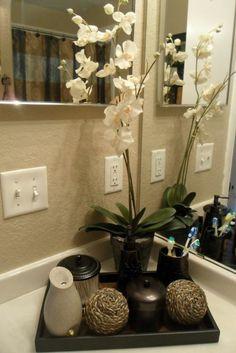badezimmer deko badezimmer gestalten mit blumen und accessoires - Badezimmer Etagere