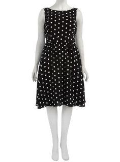 Black Spot Prom Dress