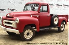 1957 International Truck | 1957 International Harvester S120 pickup 4X4