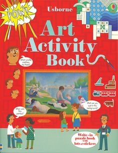 A write-in activity book featuring a wide range of famous paintings, alongside creative projects and puzzles which will help children to understand basic principles of art, such as color and composition in a fun and interactive way.