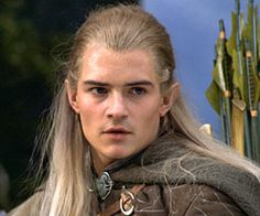 Orlando Bloom as Legolas ... just how an elf looked like in my imagination