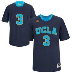 adidas UCLA Bruins 2014 March Madness #3 Basketball Jersey - Navy Blue/True Blue