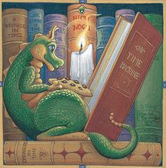 Midnight Stories by Randal Spangler    Would love to have this framed for my book nook <3