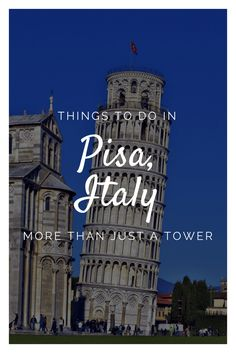 Things to do in Pisa, Italy Stuff To Do, Things To Do, Pisa Italy, Backpacking, Places To See, Transportation, National Parks, Bucket, Tower