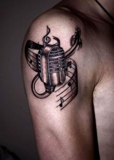 Music Tattoo Designs for Men and Women34