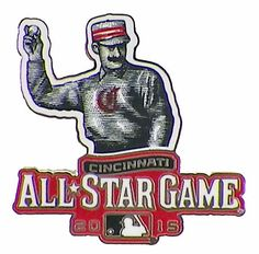 Cincinnati Reds 5 Time All Star Game Host 2015 Commemorative Pin